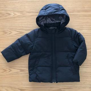 MUJI (無印良品) - 美品 無印良品 ダウンジャケット 80サイズ