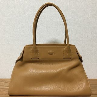 TOD'S - 美品 トッズ キャメル トートバッグ Tod's