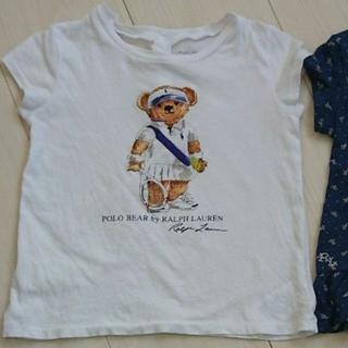 ポロラルフローレン(POLO RALPH LAUREN)のPOLO RALPH LAUREN  ベアT テニス 24m(Tシャツ/カットソー)