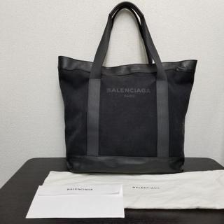 Balenciaga - バレンシアガ トートバッグ 黒 キャンバス×レザー