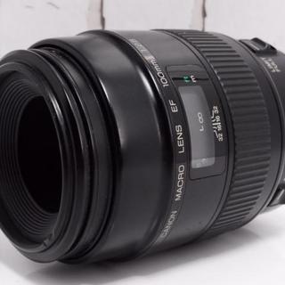 Canon - ★超人気★Canon EF 100mm macro レンズ