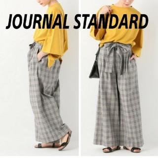 JOURNAL STANDARD - 【新品】JOURNAL STANDARD リボンベルトツキ ワイドタックパンツ