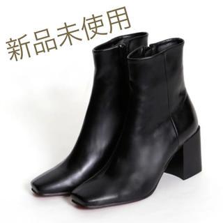 IENA - 人気完売アイテム❤️【新品】marjourショートブーツ黒♡