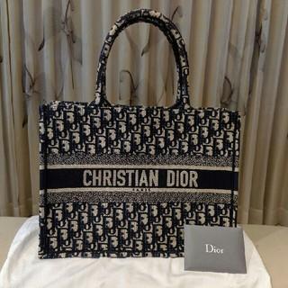 クリスチャンディオール(Christian Dior)の【 美品 】2019カプセルコレクション ブック トートバッグ 千鳥格子(トートバッグ)