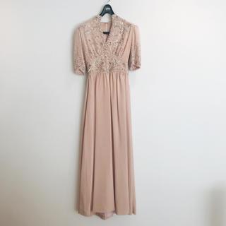 ヴェラウォン(Vera Wang)の社交界 パーティー オーダー ロングワンピース ドレス 美品(ロングドレス)