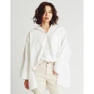 ミラオーウェン(Mila Owen)のミラオーウェン    ポンチョ風ボリュームシャツ(シャツ/ブラウス(長袖/七分))