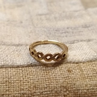 noguchi BIJOUX 編み込みリング(リング(指輪))