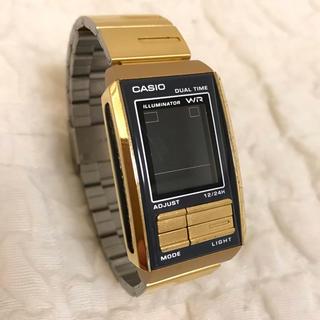 カシオ(CASIO)のCASIO カシオ フューチャリスト LA-201W ゴールド(腕時計)