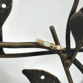アガット(agete)のagete アガット オパールダイヤリング(リング(指輪))