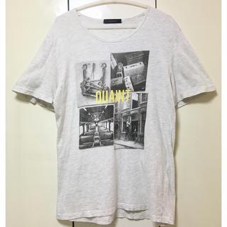 レイジブルー(RAGEBLUE)の【再値下げ!】RAGEBLUE フォトプリント ライトグレーTシャツ《Lサイズ》(Tシャツ/カットソー(半袖/袖なし))