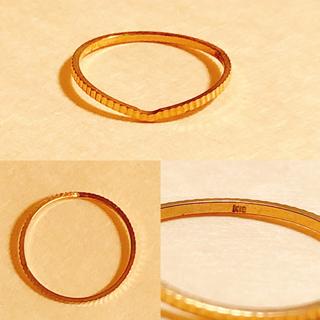リング 13号 14号K18 ※専用出品※(リング(指輪))
