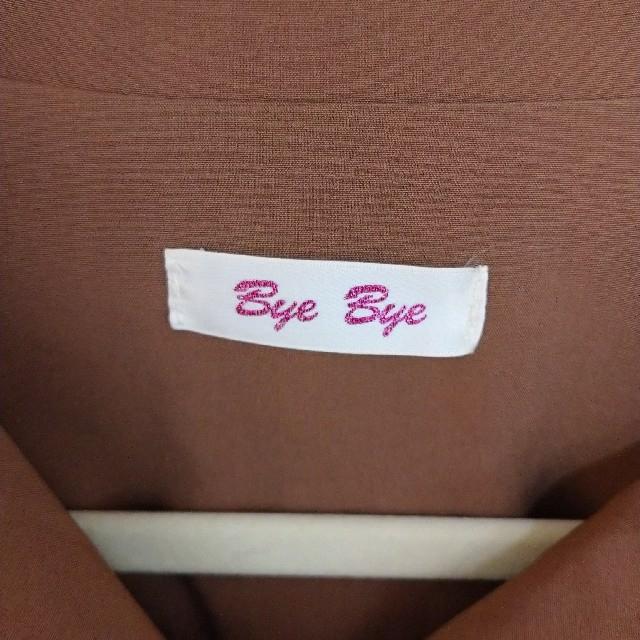 ByeBye(バイバイ)の値下げ‼️Bye Bye ブラウンワンピース レディースのワンピース(ひざ丈ワンピース)の商品写真