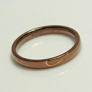 アウトレット 名入れ無料 平仮名 漢字可 チョコレートブラウン リング 1個 (リング(指輪))