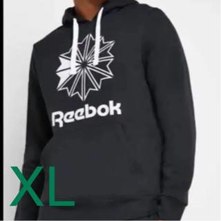 リーボック(Reebok)のリーボック Reebok CL ビッグロゴ フーディー DT8133 O/XL(パーカー)