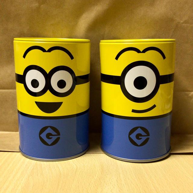 ミニオン(ミニオン)のミニオンクッキー缶セット エンタメ/ホビーのおもちゃ/ぬいぐるみ(キャラクターグッズ)の商品写真