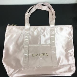LIZ LISAロゴトートバッグ ピンク