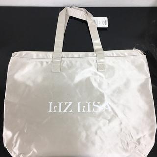 LIZ LISAロゴトートバッグ ベージュ