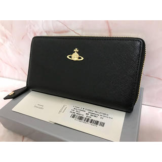 Vivienne Westwood - 黒サフィアーノ長財布❤️ヴィヴィアンウエストウッド❤️新品・未使用