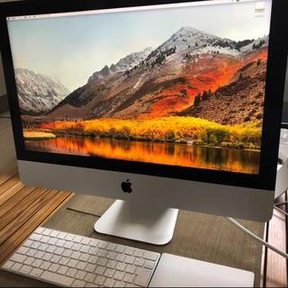 マック(Mac (Apple))のiMac 21.5inch Late(デスクトップ型PC)
