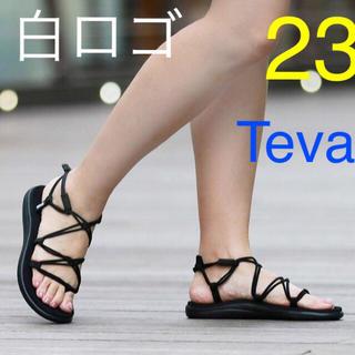 テバ(Teva)の白ロゴ 23cm Teva VOYA INFINITY ボヤインフィニティ(サンダル)