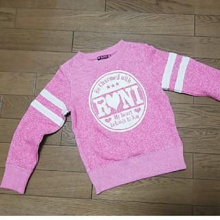 ロニィ(RONI)のRONI サンプル商品トレーナー長袖未使用Sサイズ 110 120(Tシャツ/カットソー)