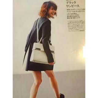 バーニーズニューヨーク(BARNEYS NEW YORK)の美品yoko chan ヨーコチャン❤︎ボックスプリーツワンピース(ひざ丈ワンピース)