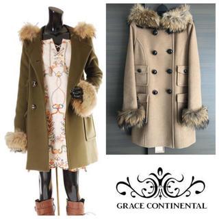 GRACE CONTINENTAL - 美品!カシミヤ ビーバーコート 38サイズ