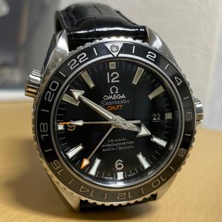 オメガ(OMEGA)の本物美品 オメガ マスター プラネットオーシャン 600M コーアクシャルGMT(腕時計(アナログ))