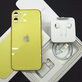 Apple - SIMフリー・ストア購入機 iPhone11 64GB イエロー