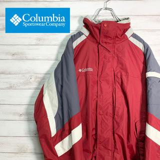 Columbia - 【大人気】コロンビア マウンテンパーカー ワンポイント ナイロン 裏起毛
