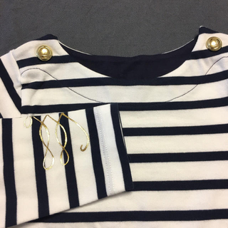 プチバトー(PETIT BATEAU)のPETIT BATEAU(プチバトー)マリニエールプルオーバー 3ans 新品(Tシャツ/カットソー)