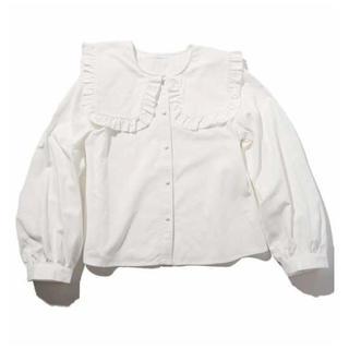 スピンズ(SPINNS)の❤︎ big collar blouse ❤︎(シャツ/ブラウス(長袖/七分))