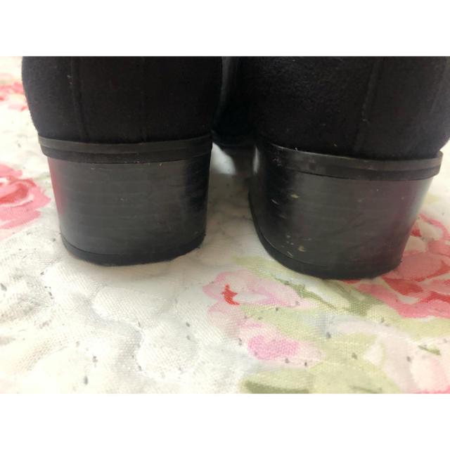 しまむら(シマムラ)のサイドゴア ショート ブーツ しまむら M  レディースの靴/シューズ(ブーツ)の商品写真