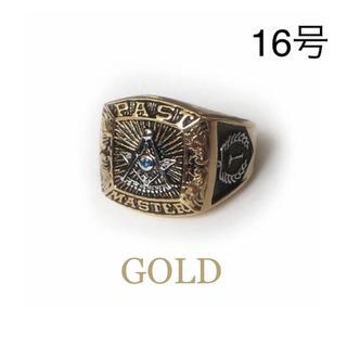 フリーメイソン   リング 16号 ゴールド(リング(指輪))