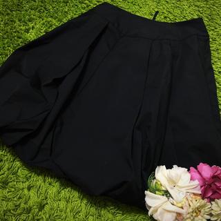 FOXEY - フォクシー レディベーシックボリューミースカート黒