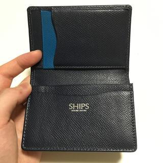 SHIPS - SHIPS シップス  名刺入れ カードケース