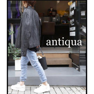アンティカ(antiqua)のantiqua アンティカ ストレッチジーンズ M ライトブルー(デニム/ジーンズ)