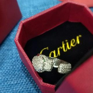 カルティエ(Cartier)の新品Cartierカルティエ リング 指輪 レディース 箱付き(リング(指輪))