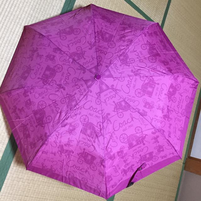 COACH(コーチ)のコーチ 折り畳み傘 レディースのファッション小物(傘)の商品写真