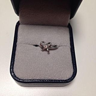 ポンテヴェキオ(PonteVecchio)の18Kダイヤ セイレーンアズーロピンキー(リング(指輪))