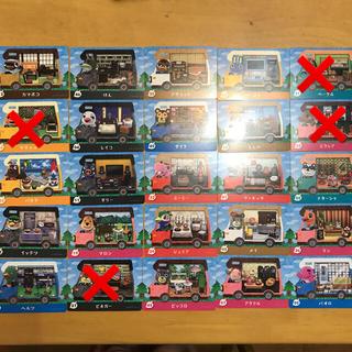 ニンテンドー3DS(ニンテンドー3DS)のどうぶつの森 amiiboカード キャンピングカー(その他)