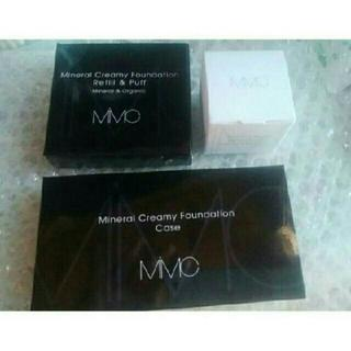 エムアイエムシー(MiMC)のMIMCミネラルクリーミーファンデーションリフィル102&エッセンスハーブバー厶(ファンデーション)