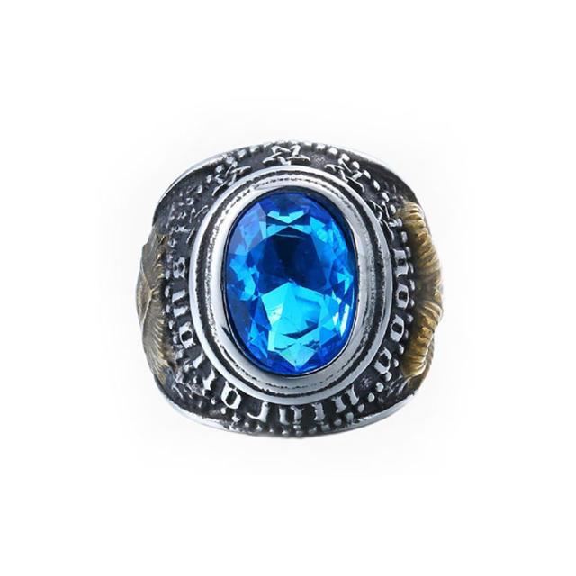 バフォメット リング 14号 プロビデンスの目 フリーメイソン メンズのアクセサリー(リング(指輪))の商品写真