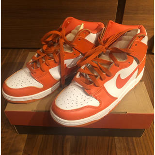 NIKE - nike dunk high white orange 1998年モデル 新品