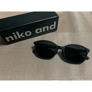 ニコアンド(niko and...)の♡[niko and ...×JINS]マットウェリントンサングラス ブラック♡(サングラス/メガネ)