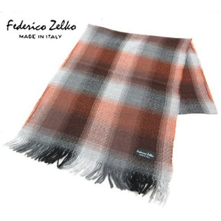 フェデリコゼルコ 毛100% マフラー イタリア製(マフラー/ショール)