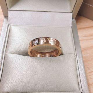 ブルガリ(BVLGARI)のブルガリ★ブルガリブルガリ 1P ダイヤリング 52(リング(指輪))
