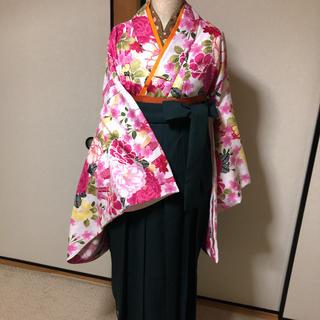 袴セット卒業式小学生大学生卒業袴2尺袖(着物)