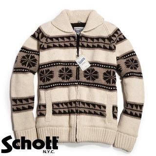 ショット(schott)のSchott NYC ショット ■ XXL カウチン セーター ジャケット(その他)