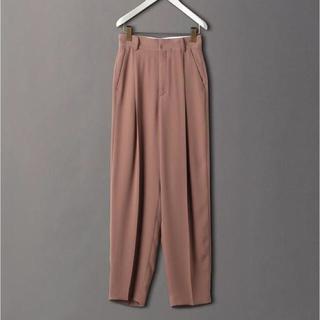 BEAUTY&YOUTH UNITED ARROWS - roku 6 GEORGETTE TUCK PANTS パンツ